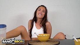 BANGBROS - Tony Rubino Eats Cameron Canela's Delicious Pussy For Breakfast