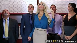 Brazzers - Big Tits at Work - Bridgette B Xander Corvus - Stuck In The Elevator jizzed to this