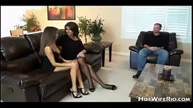 HotWifeRio Wife And Friend Do Husband