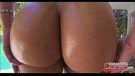Sexy Big Ass Blonde Teen Anikka Albrite