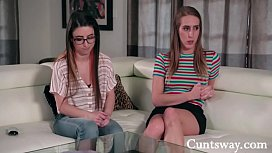 Stuck Indoors Together- Lesbian Saga