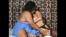 MILF bitch Veronica gets her hairy cunt fingered before getting nailed by hunk