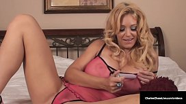 Got Milf? Cougar Charlee Chase Pleasures Her Pussy For You!