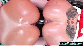 Lesbian Girls augu arri Play Hard In Punish Sex Tape Using Dildos clip