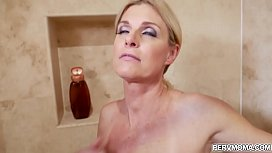 India Summer riding her milf pussy on top of step sons big throbbing cock!