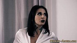 Kinky gothic slut drilled