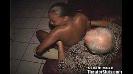Wild Anal Black Chick Hardcore Theater Gang Bang Orgy