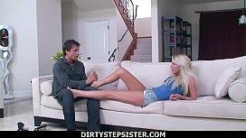 DirtyStepSister - Creampie My Blue Eyed Blonde Stepsis Brynn Tyler