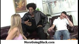 Big Tit MILF Wife Fucked by Black Thug Interracial 13