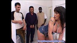 Three Big Cock For One Bitch Sheila Stone