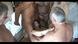 5 Old Men Fucking Cute Girl