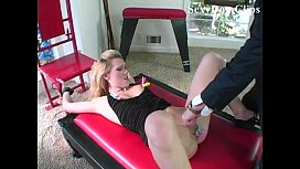 samantha sin tied up, tormented with clothespins and fucked