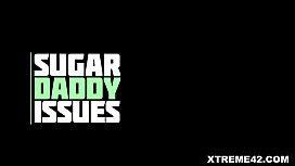 Sugar daddy fucks a bubble butt teen