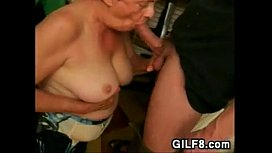 Fat Grandma Wants Long And Hard Cock