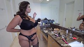 Plump Cutie Sofia Rose Takes on A BBC faapy