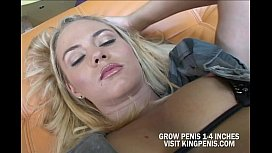 Sophie Pretty Blonde Sucked A Cock