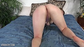 Gorgeous Vestacia Jon-quil teasing her hairy pussy