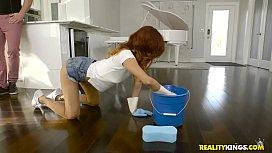 Naked Cleaning Jade Jantzen Kyle Mason xjxxx