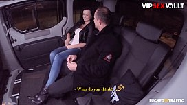 VIP SEX VAULT - #Erica Black - Cute Ukrainian Teen Wants To Go Wild With Her Driver