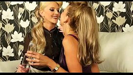 Vagina hungry lesbos are into all kinds of wild lechery