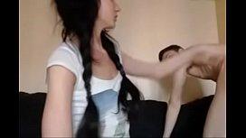 Russian Teen Couple On Webcam