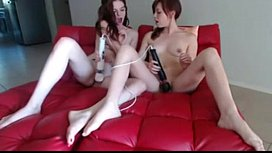 Teen Cam Gils Use Hitachi to Orga onsored by ADULTTO K