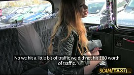 Super hottie Yasminas sweet pussy gets rammed pov by the taxi driver