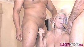 Brit granny with big tits