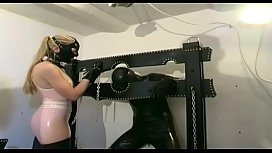 Extreme latex games for perverse women bella torrez