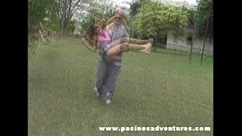 Pacinos Adventures - Sara Lopez outdoor anal sex