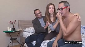 Bankrupt bf lets hot pal to ride his ex-girlfriend for bucks