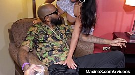 Asian Persuasion Maxine X Dick Bangs Big Black Cock!
