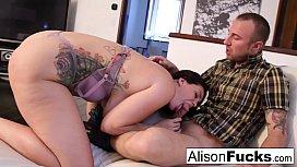 Alison drains Chad