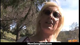 Hot Milf Gets Ripped By A Black Cock! 14