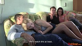 18videoz - Cream And Coffee Home Sex Party Lindsey Olsen Nataly Gold