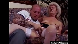 Grandson can'_t believe his grandmother is so damn horny