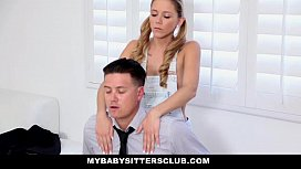 MyBabySitte ub Obsessed BabySitter Gets CreamPied