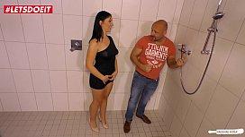 German mature woman fucks the plumber hardcore