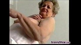 Nau Grandmother Does A Striptease