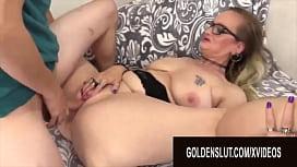 Golden Slut - Pounding Older Pussies Compilation Part 11