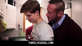 Straight Son Seduced And Barebacked By Daddy - FAMILYCOCKS.COM