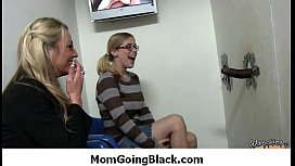 Busty Mommy Loves Down Black 23