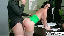 Bigtits Horny Sexy Girl Get Hard Nailed In Office vid-14