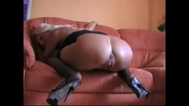 Mature Blonde Lady Fucked in the ass