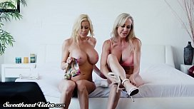Brandi Love Alexis Fawx Rim Kiss And Lick Each Other