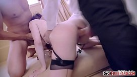 Samantha ends up getting her butthole savaged