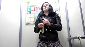 I like to piss in public places, amateur fetish compilation and a lot of urine.