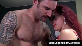 Mature Muff Sexy Vanessa Is Fat Cock Fucked By Alex Legend!