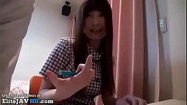 Japanese shy teen gets banged