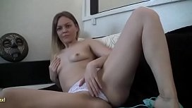Amateur Takes Her Clothes Off On Webcam